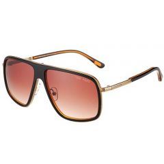 Vogue Unisex Fake Reatangle Frame Tom Ford Tortoise Tips Eyewear SUGT007 Fashion Out-fits