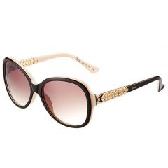 Fake Dior Butterfly Designed Girls Out-door Sunglasses SUGD005 Gentry Beige Frame