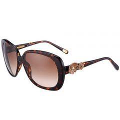 Marc Jacobs Flower Temples Vogue Amber Lenses Sunglasses SUGJ005 Tortoise Fram