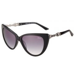 Economy Dior Classy Eye Cat Frame Sweet Girls Sunglasses SUGD004 Solid Metal Temple