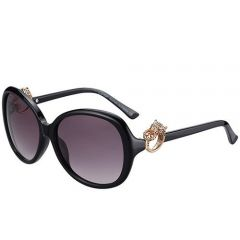 Gentry Girls Panthere Ornaments Jewelry Cartier Sunglasses SUGC011 Purple Lenses