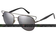 Christian Dior Technologic 84J0T Silver Tone Grey Mirrorred Sunglasses Dupe CD015