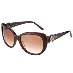 Gentry Girls Dolce &Gabbana Flower Charm Sunglasses SUGG003 Amber Lenses Butterfly Frame